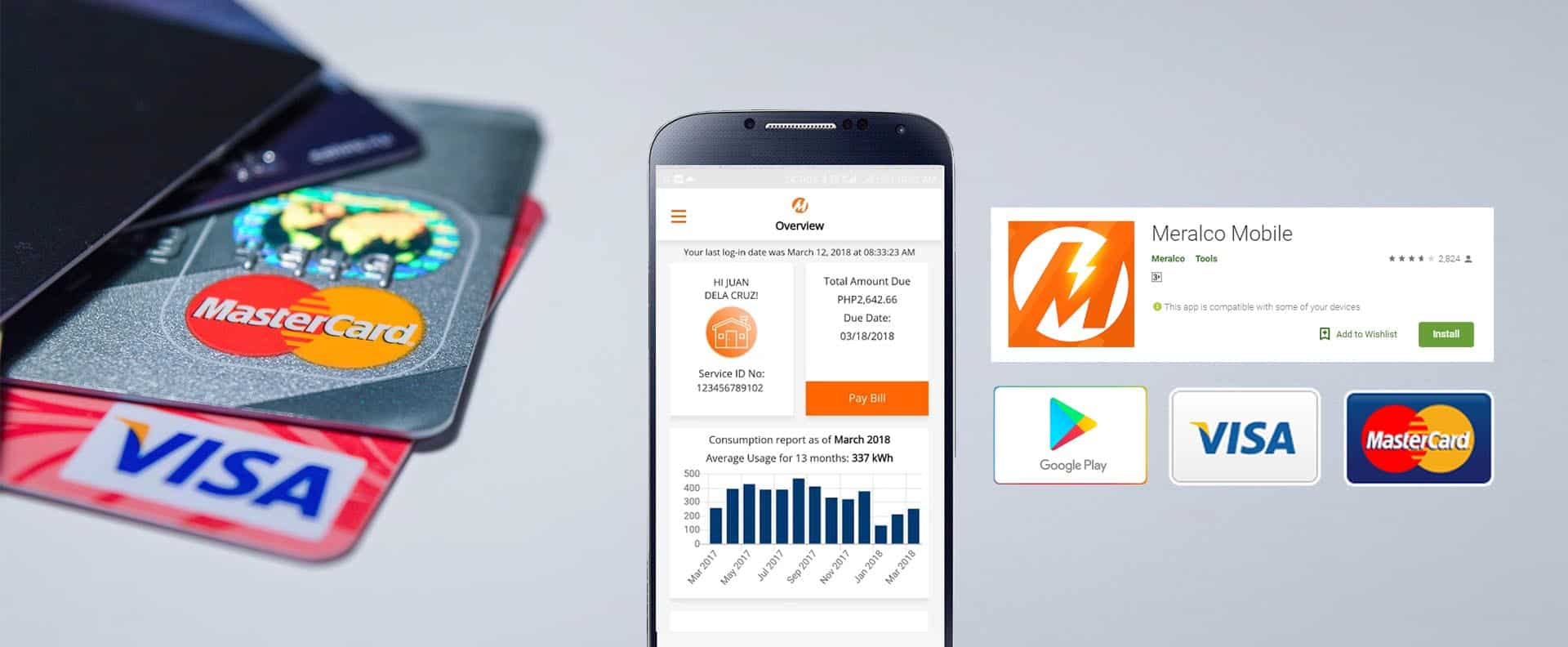 Meralco Online Payment with Credit Card